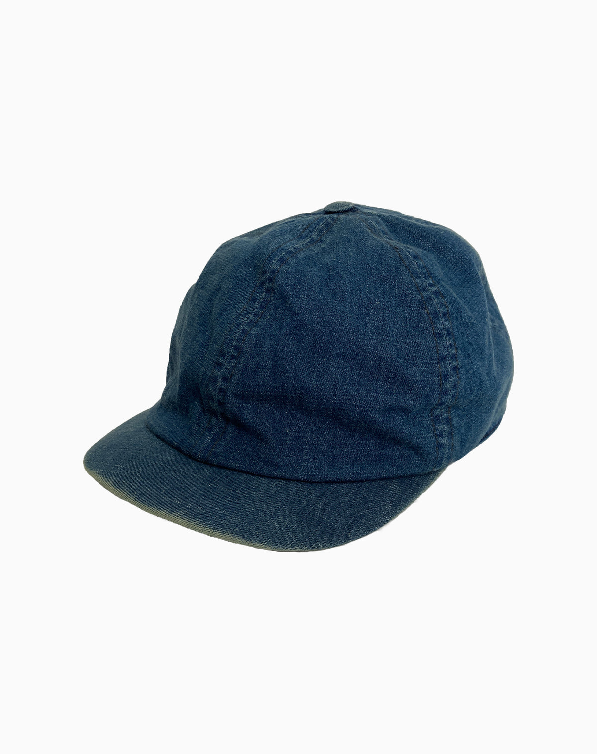 Paperboy Cap in Denim