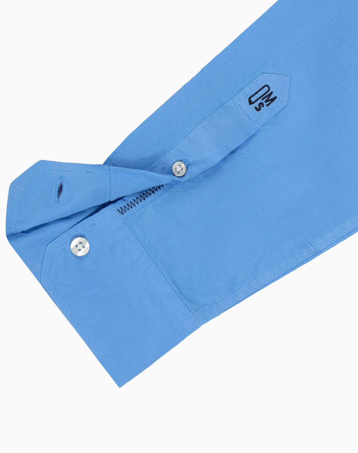 French Blue Poplin Spread