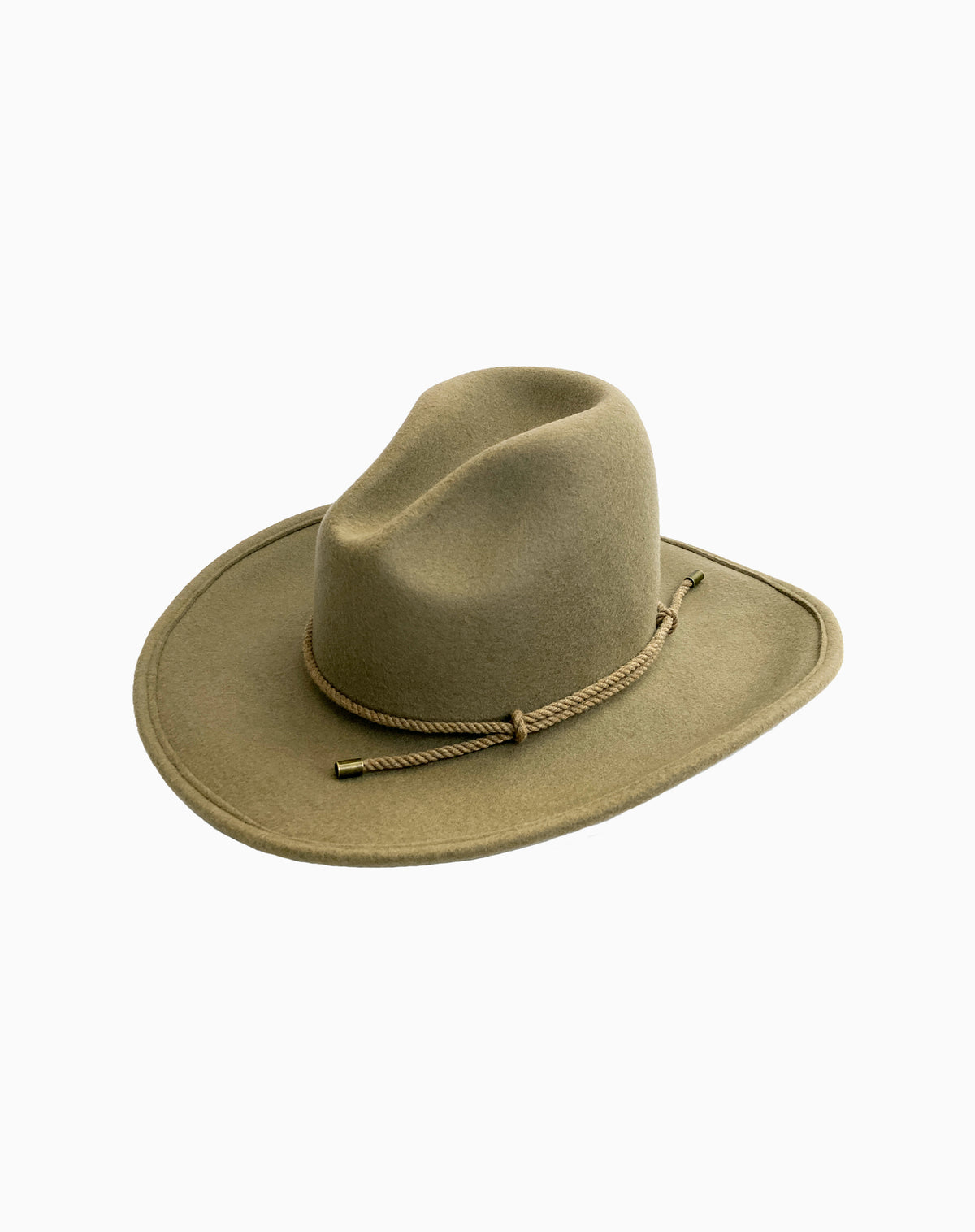 Ketchum Wool Felt Hat in Putty