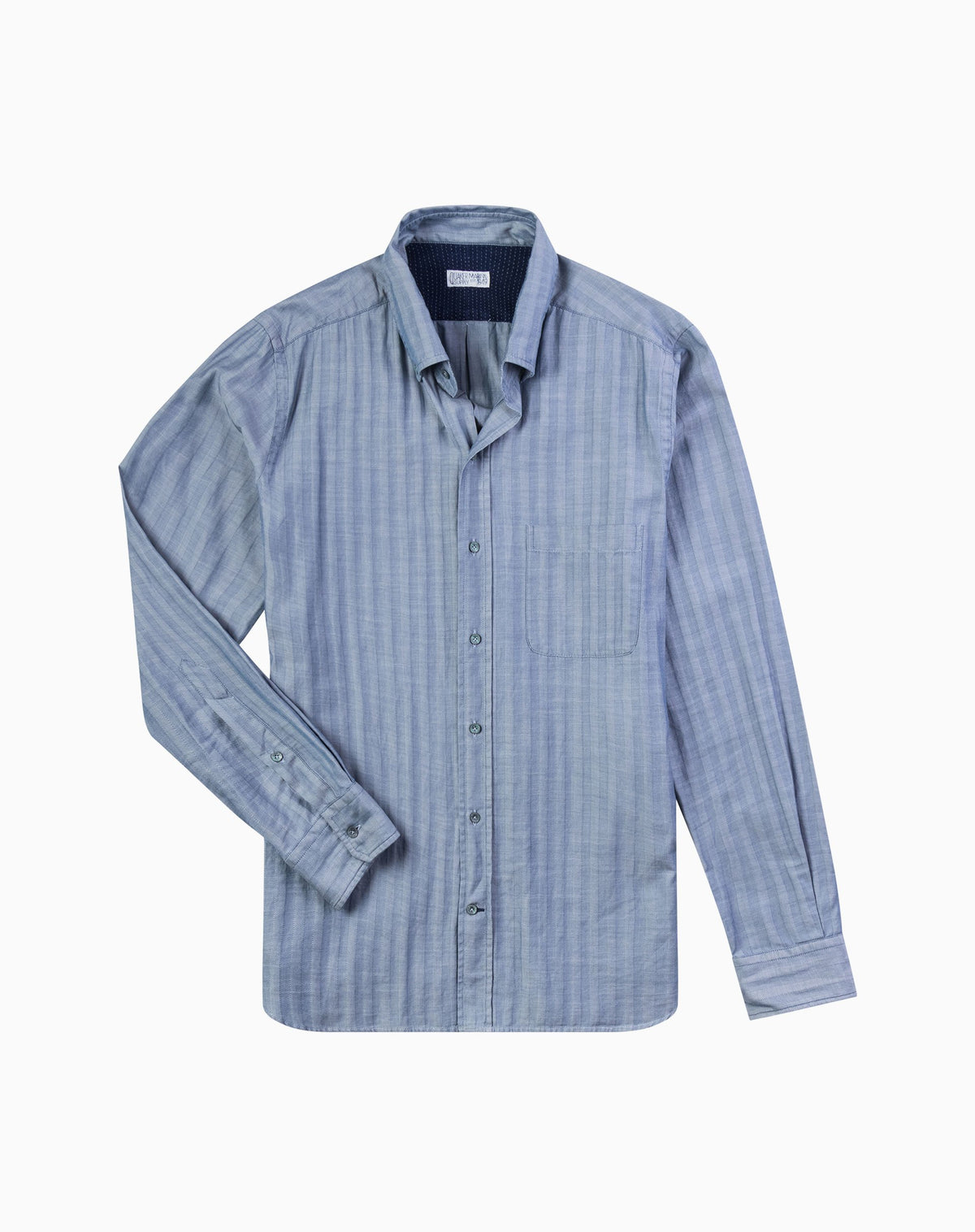 Herringbone Button-Down