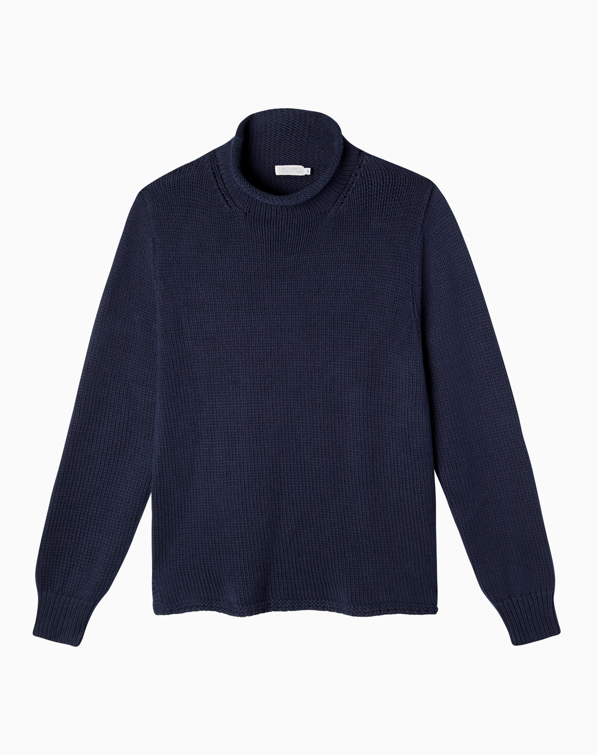 Fisherman's Sweater in Navy