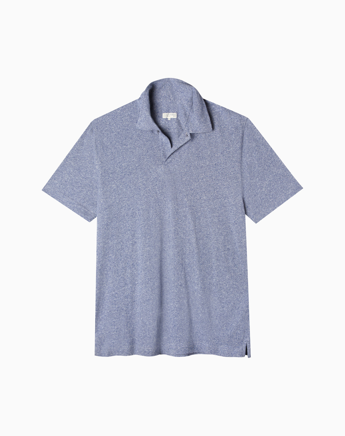 Polo in Heather Blue