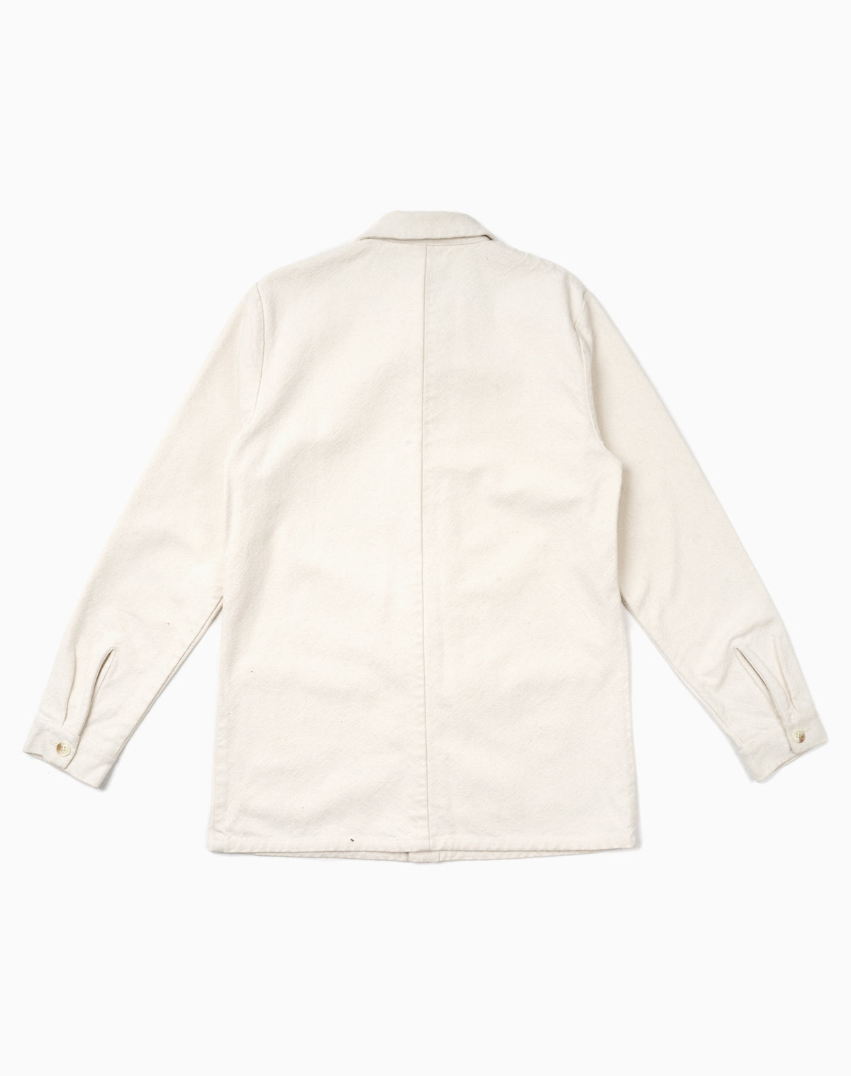 French Workman's Jacket in Off White