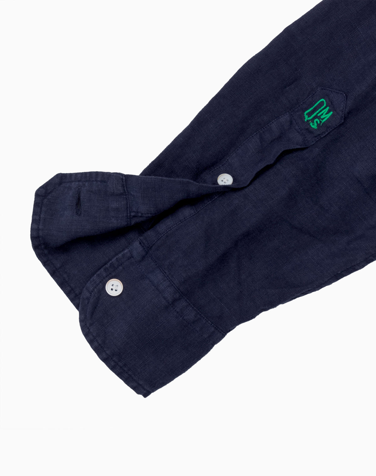 Linen Shirt in Navy Blue