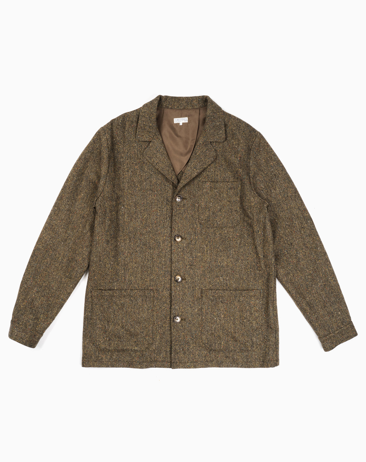 Loafer Jacket in Donegal Tweed