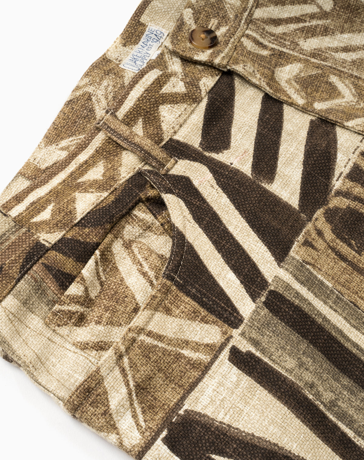 Printed 5-Pocket in Tribal Patchwork