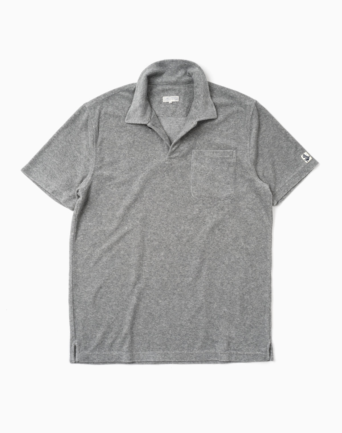 Terry Polo in Grey