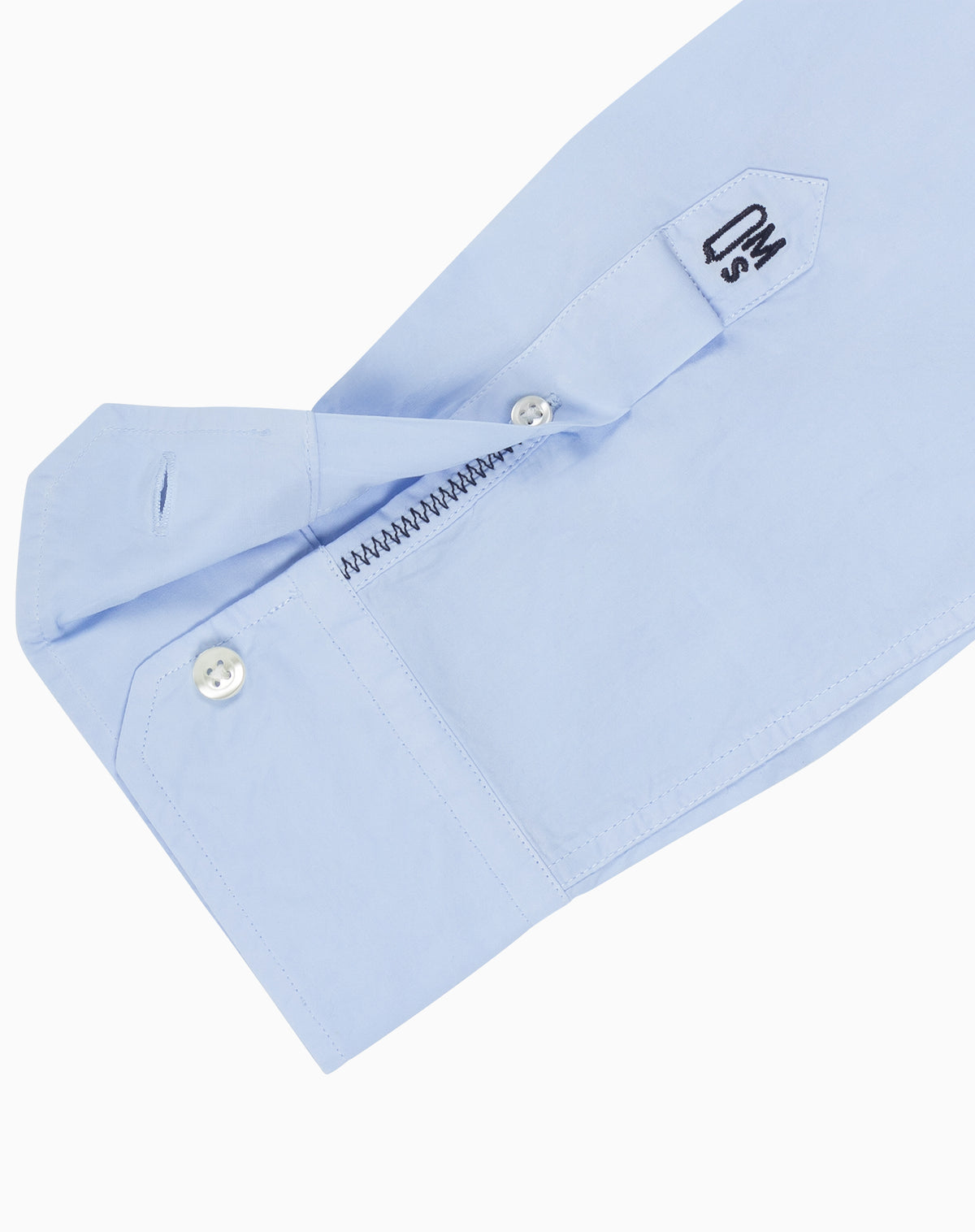 Poplin Shirt in Powder Blue