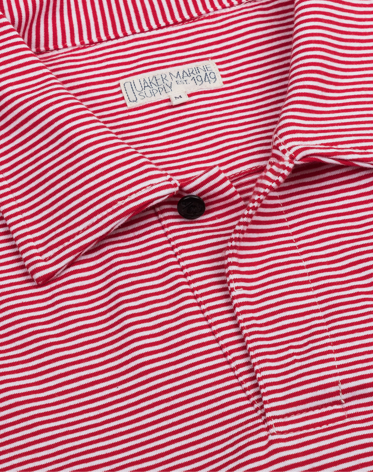 Polo in Red/White Stripe