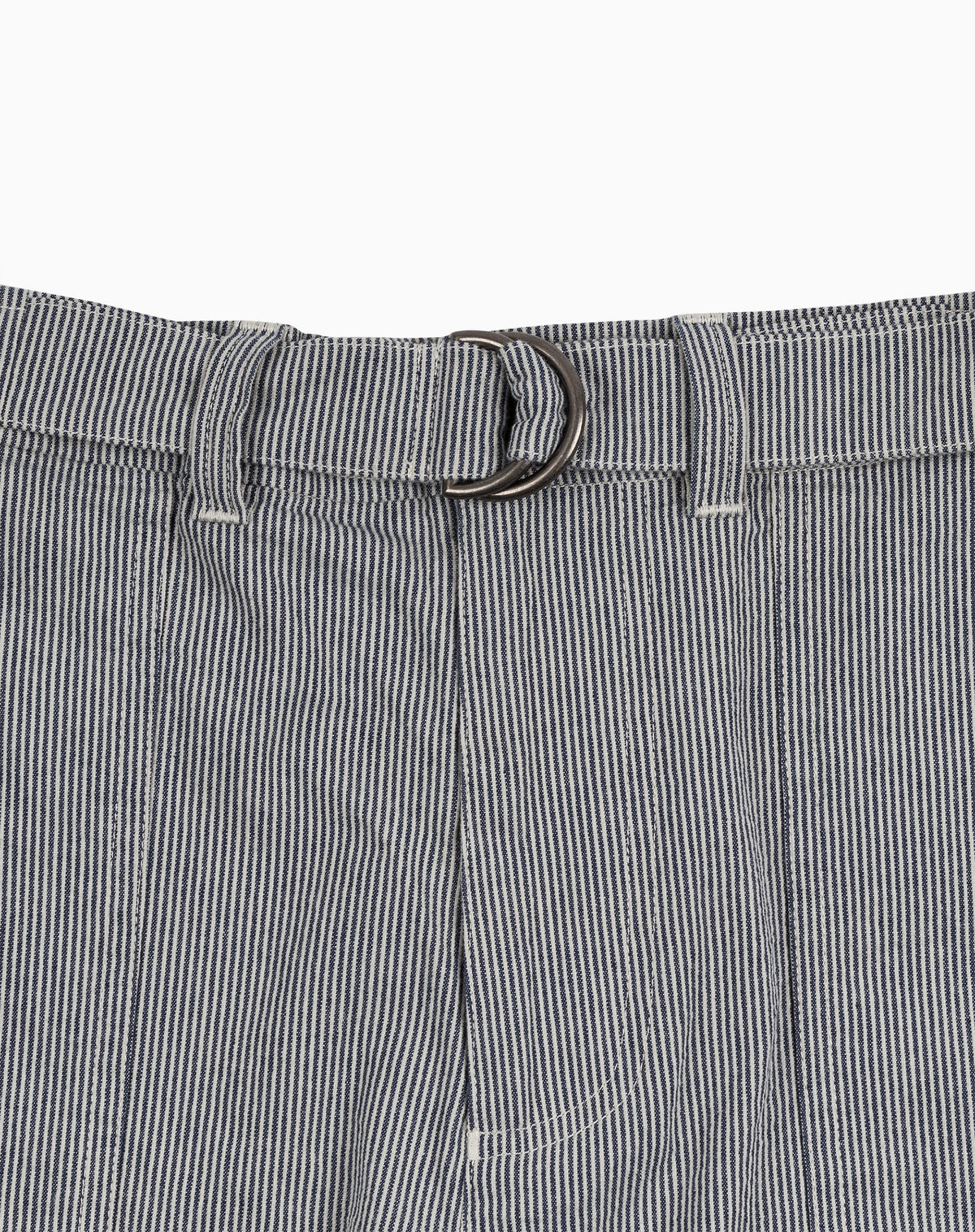 Utility Short in Railroad Stripe Pincord