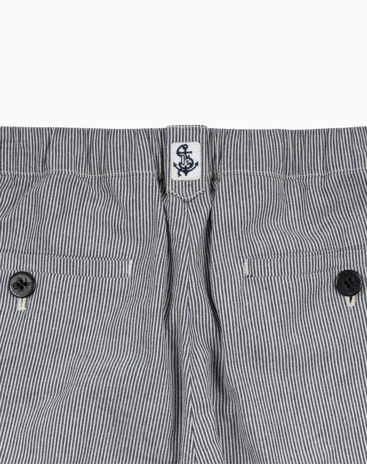 Deck Jogger in Railroad Stripe Pincord
