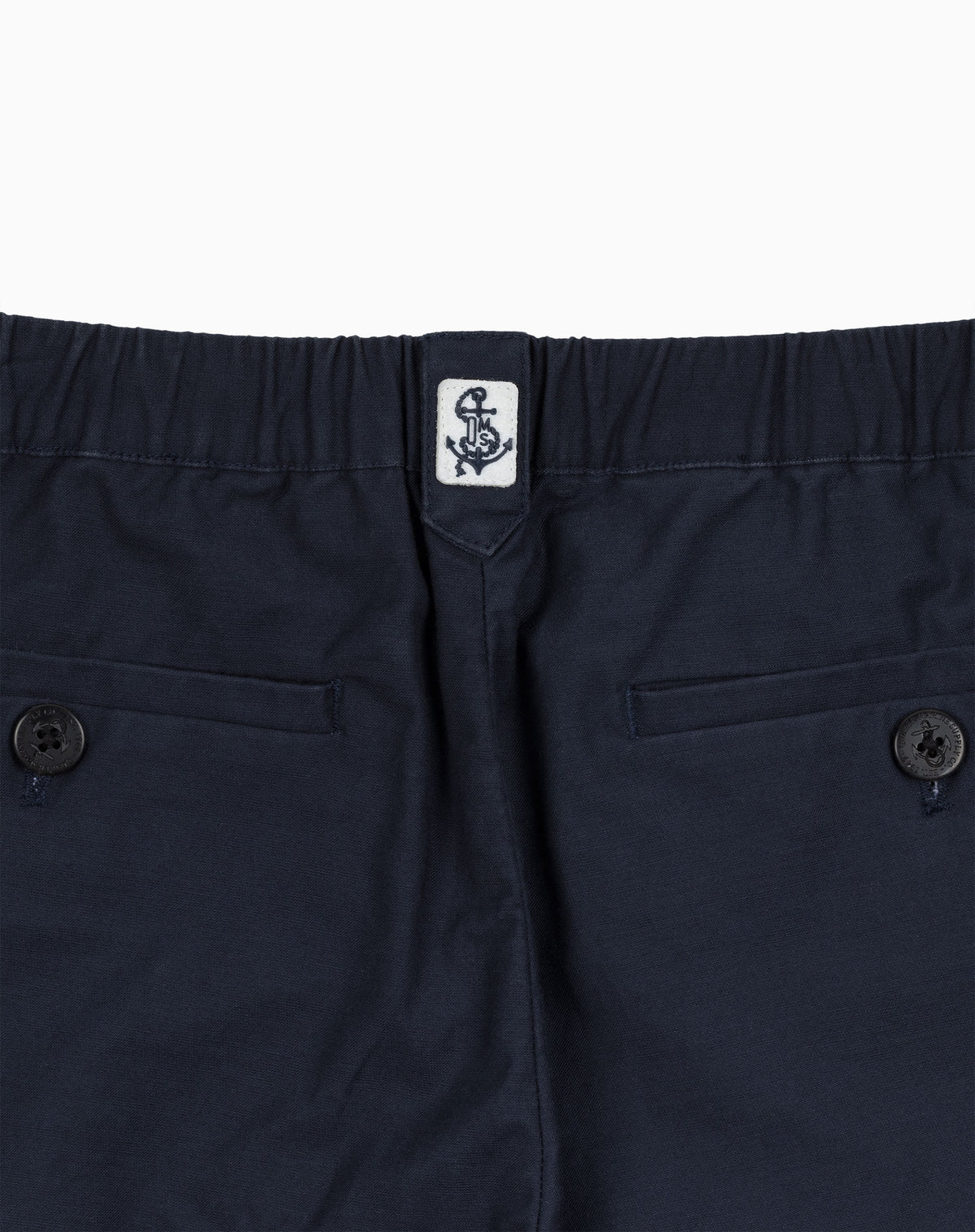 Deck Jogger in Navy Military Cloth