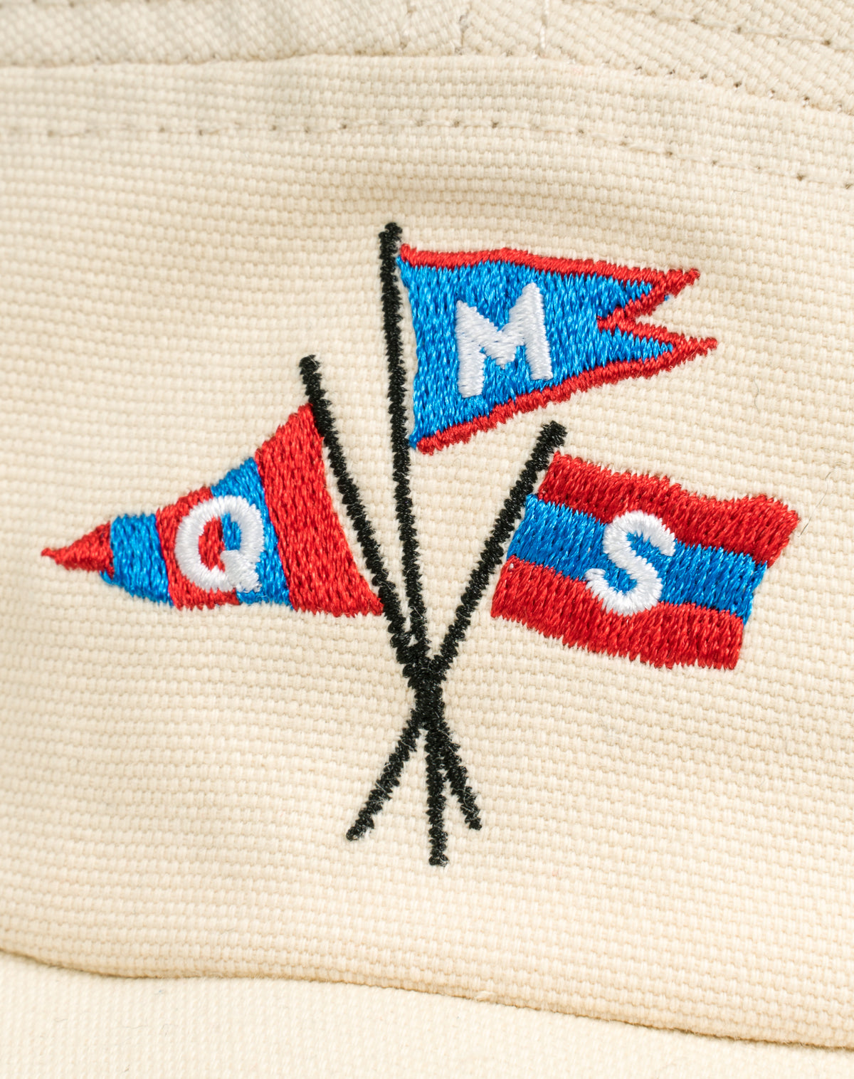 Mountain Walker in Natural Canvas w/ Flag Logo