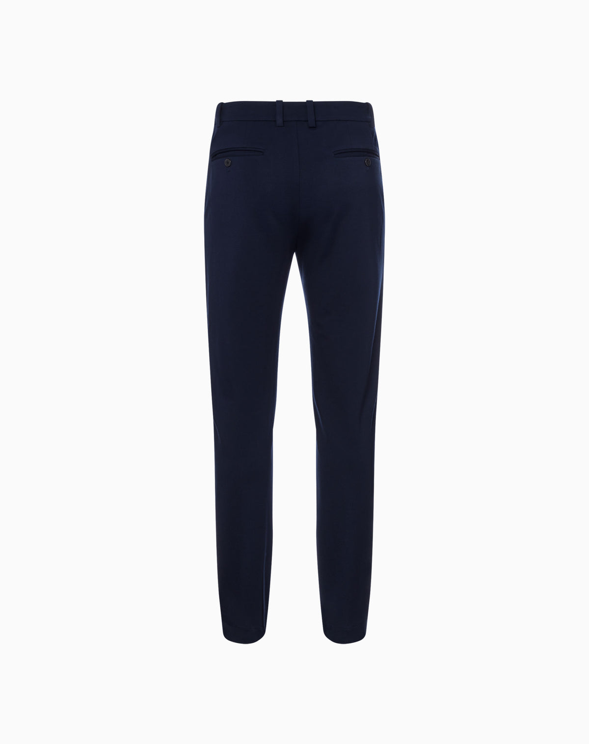 Knit Trousers in Navy