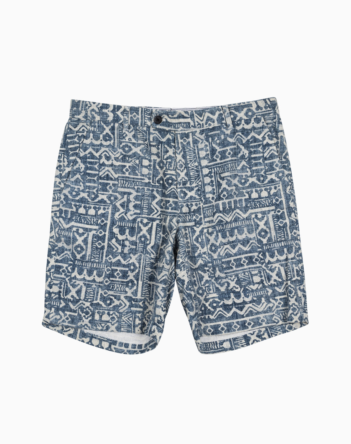 Printed Short in Barkcloth