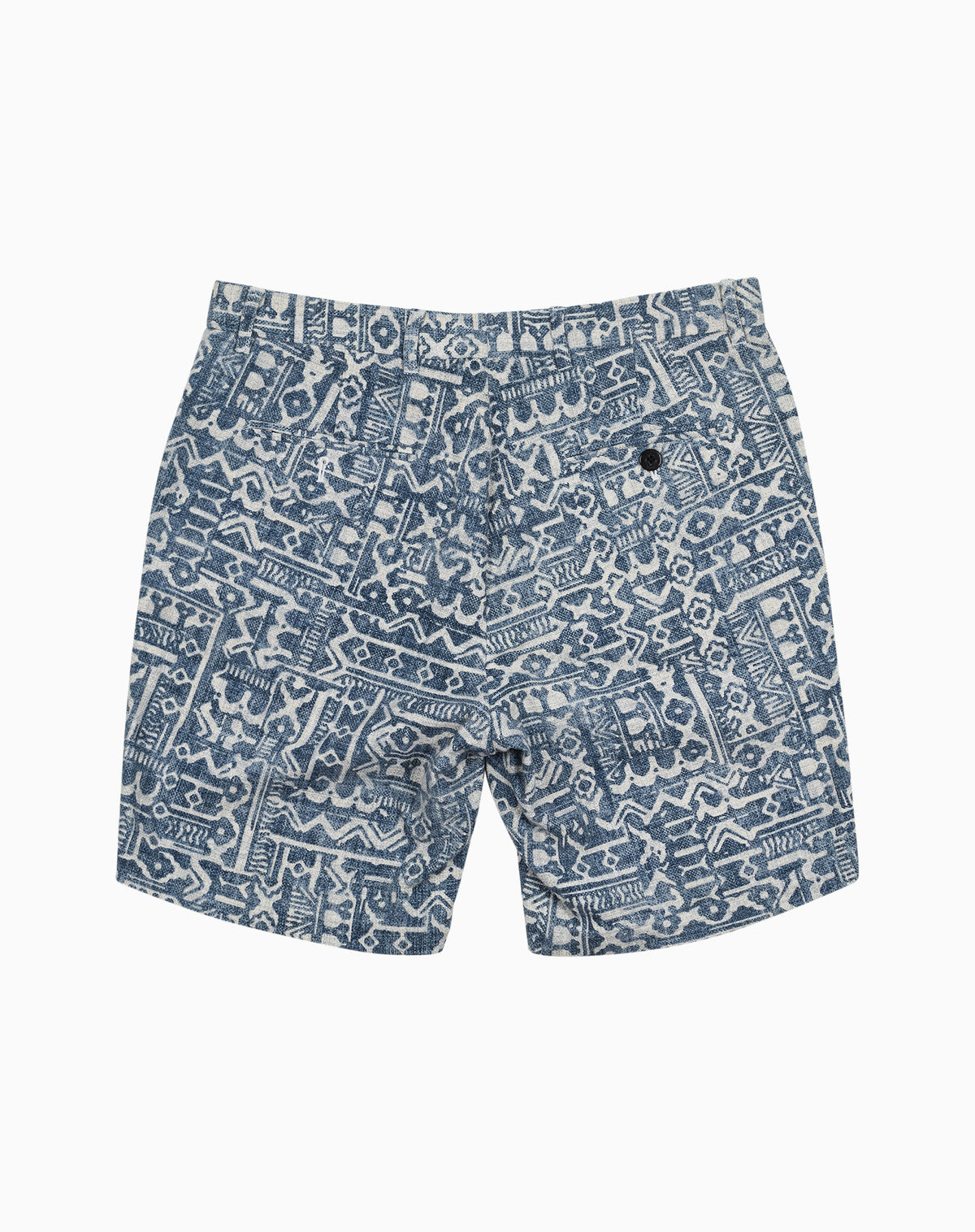 Printed Short in Mud Cloth