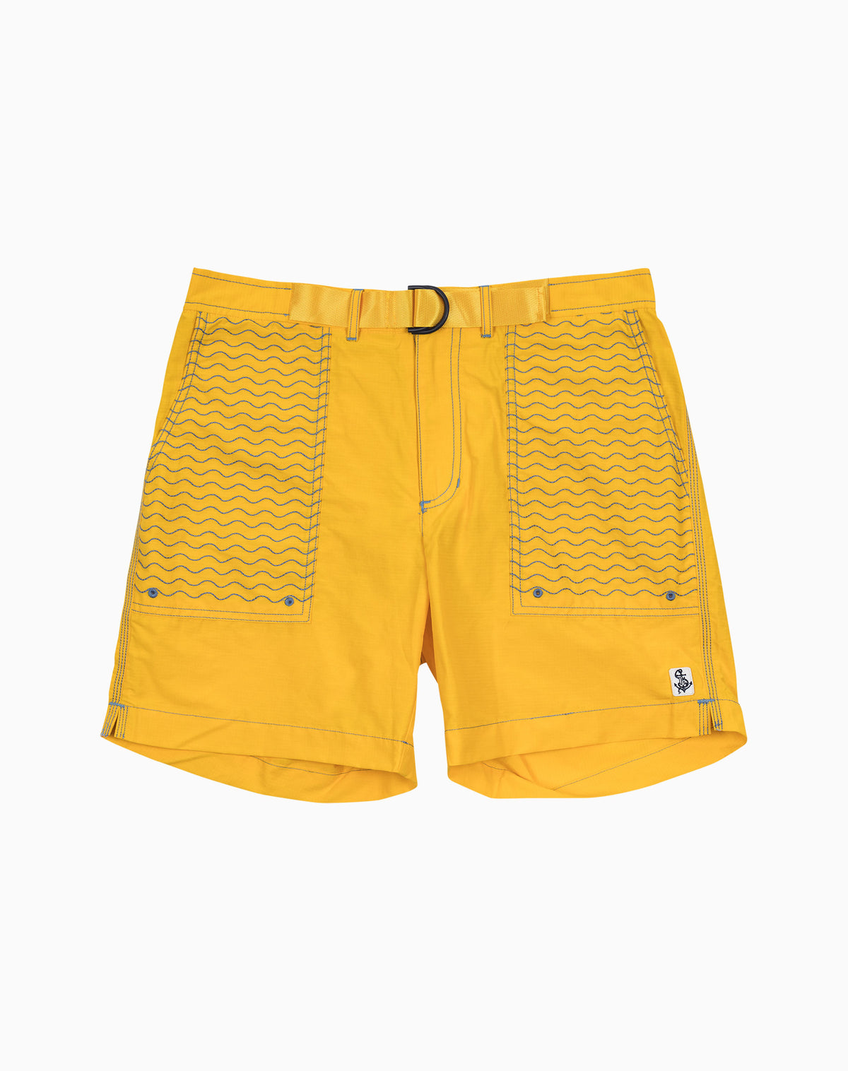 Wavy Utility Trunk in Yellow