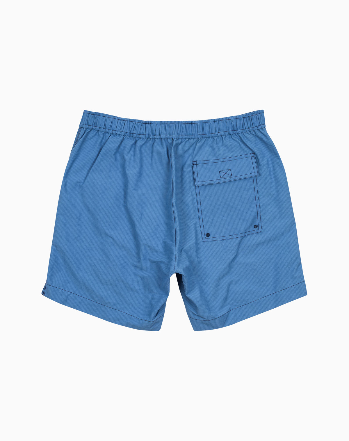 Wavy Utility Trunk in Mid-Blue