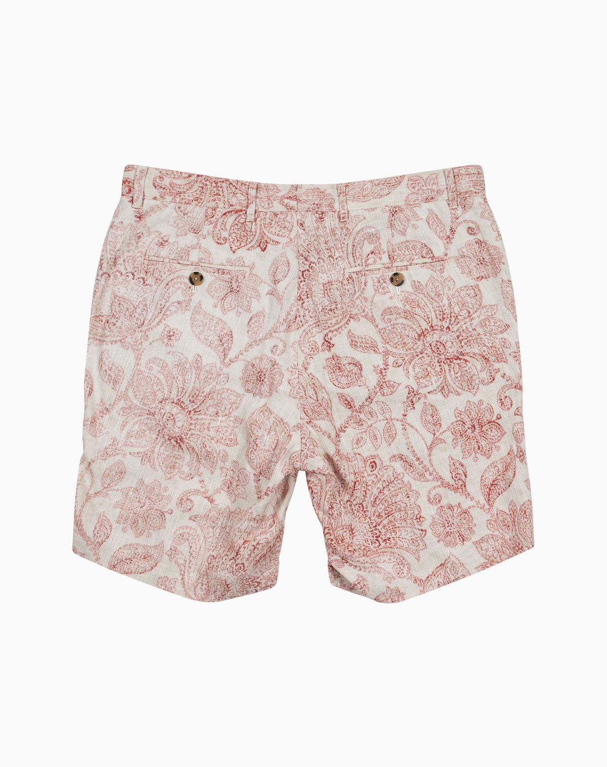Printed Short in Red Floral