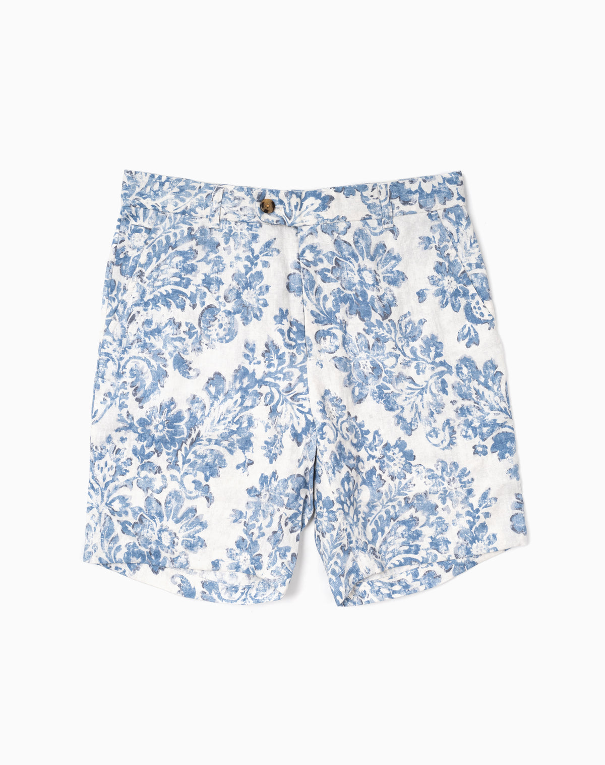 Printed Short in Blue Floral