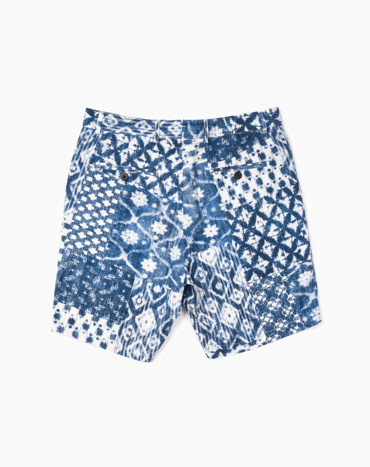 Printed Short in Shibori