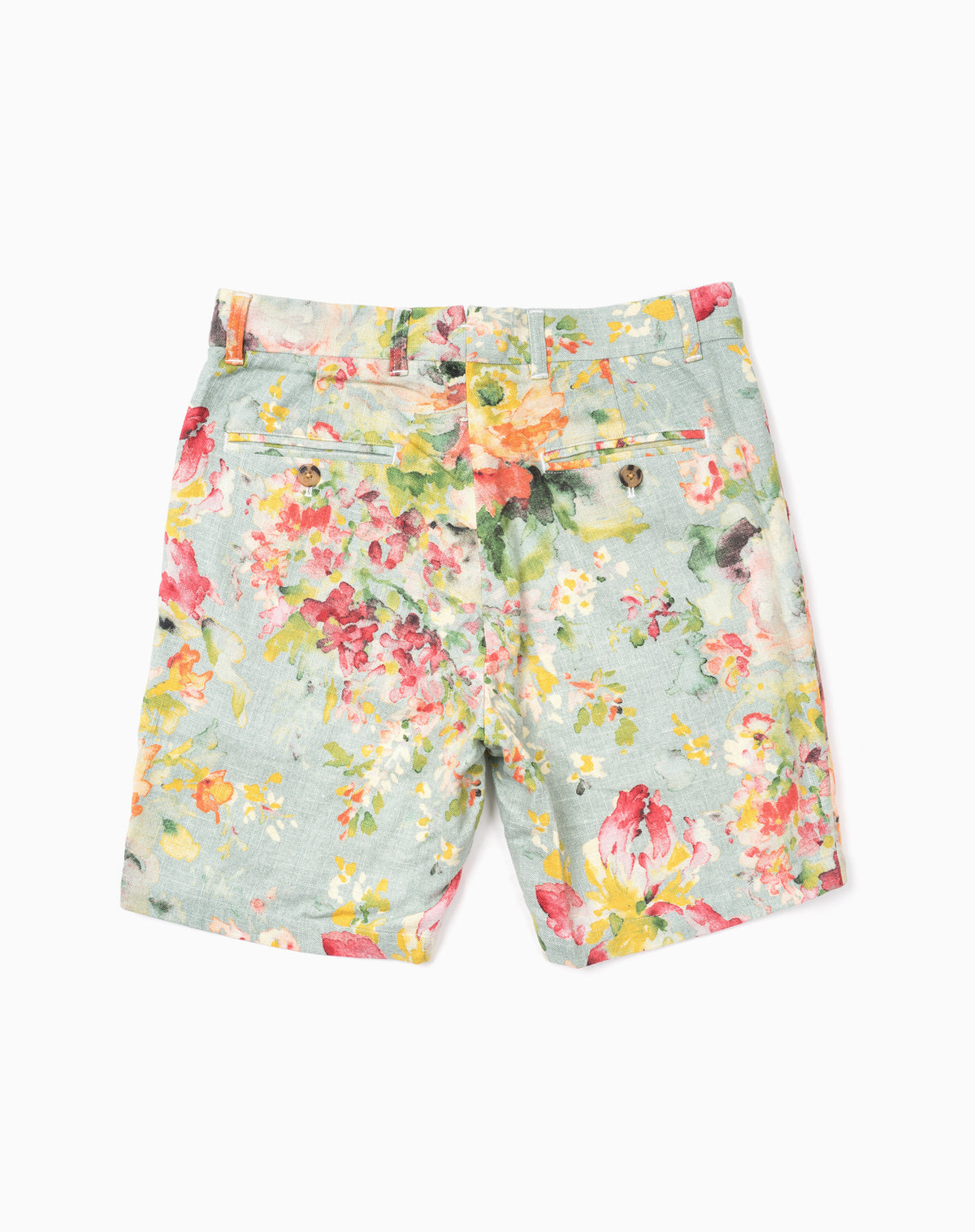 Printed Short in Multi Floral