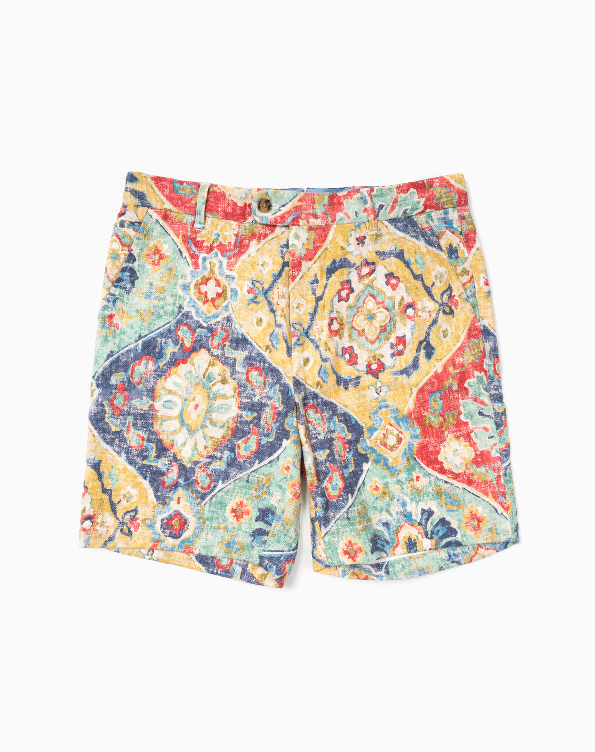 Printed Short in Ikat