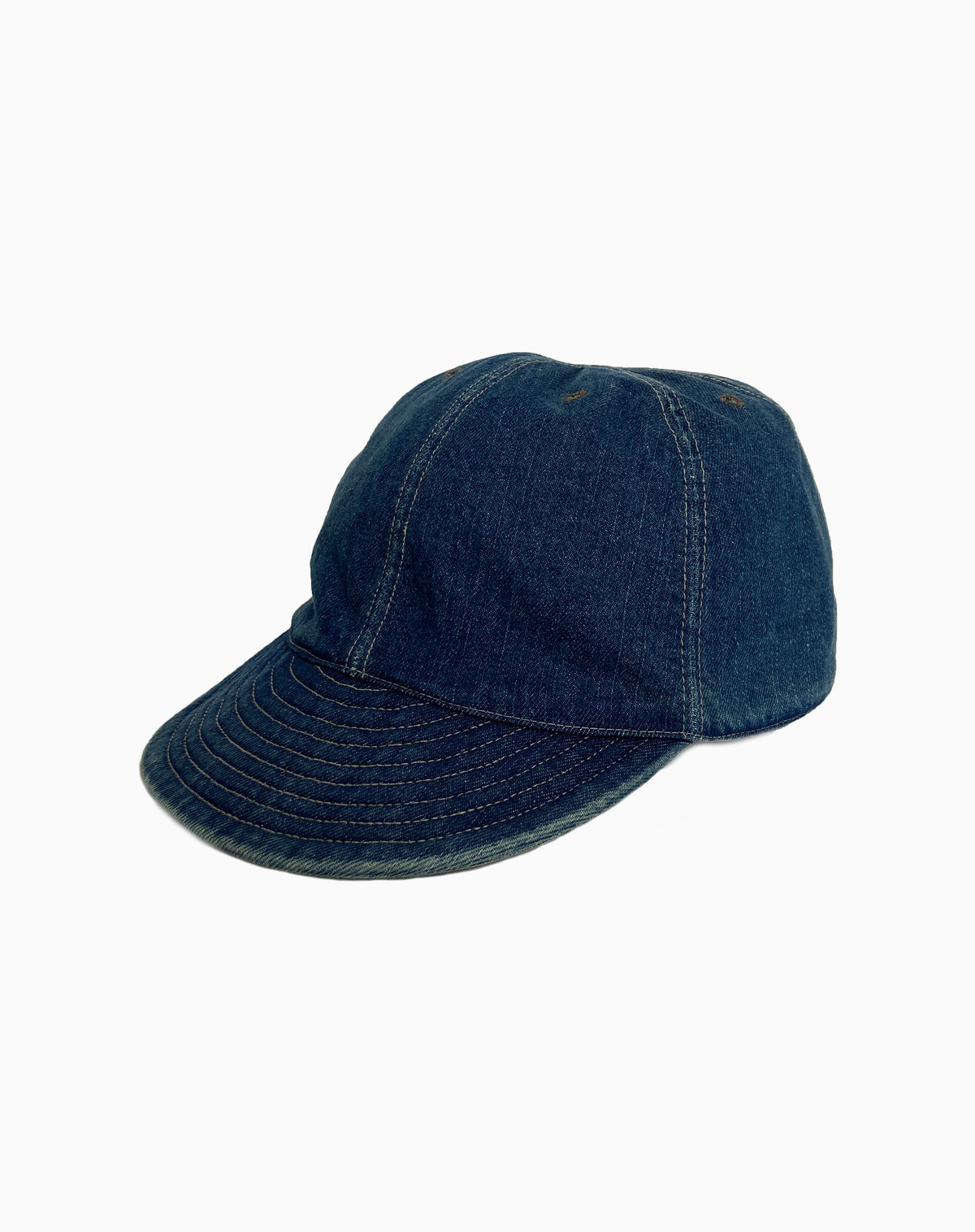 Mechanic's Cap in Denim