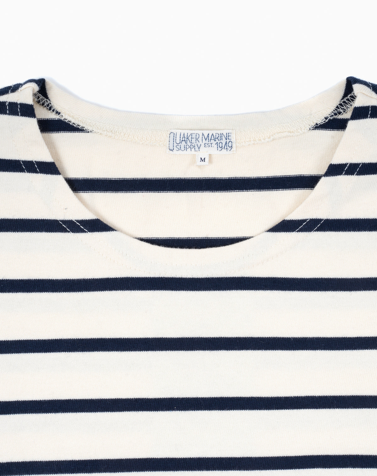 French Sailor in Cream/Navy