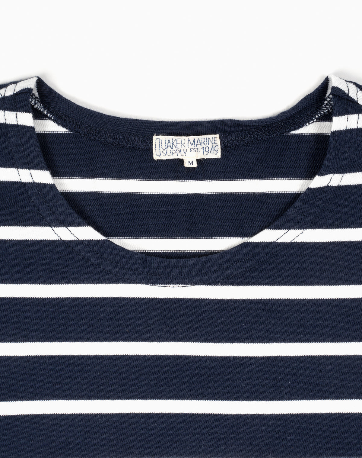 French Sailor in Navy w/ White Stripes