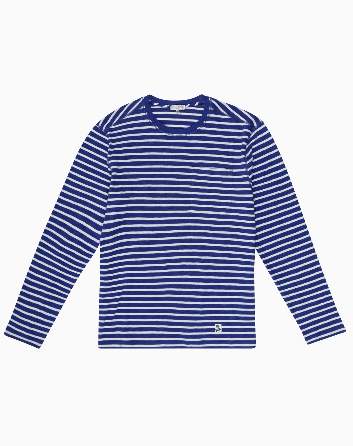 Long Sleeve Striper in Lapis