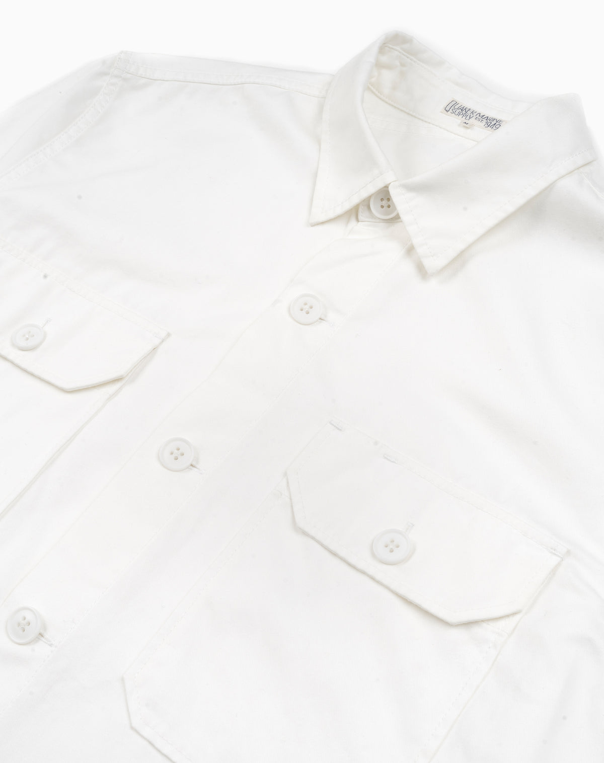 MacArthur Shirt in White