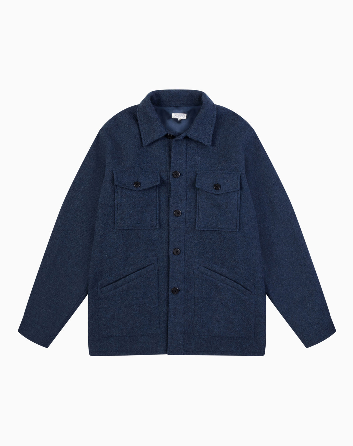 The Wallace Jacket in Blue