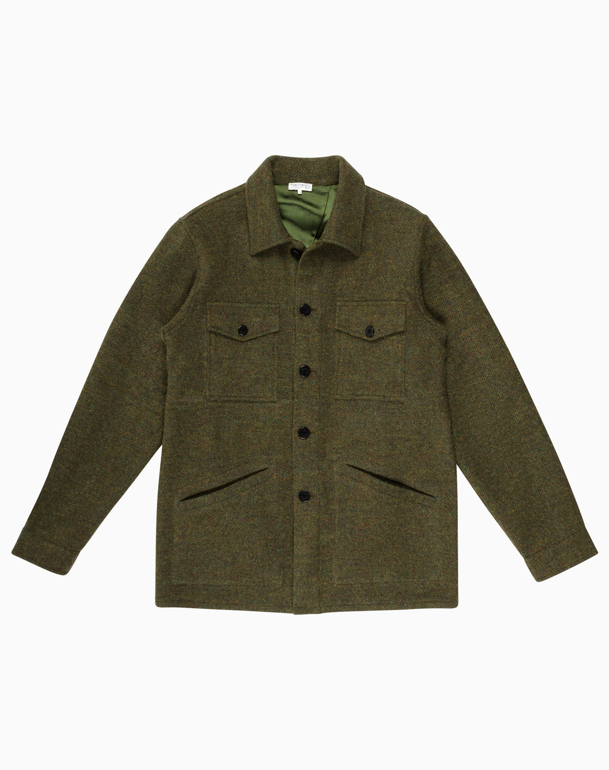 The Wallace Jacket in Green