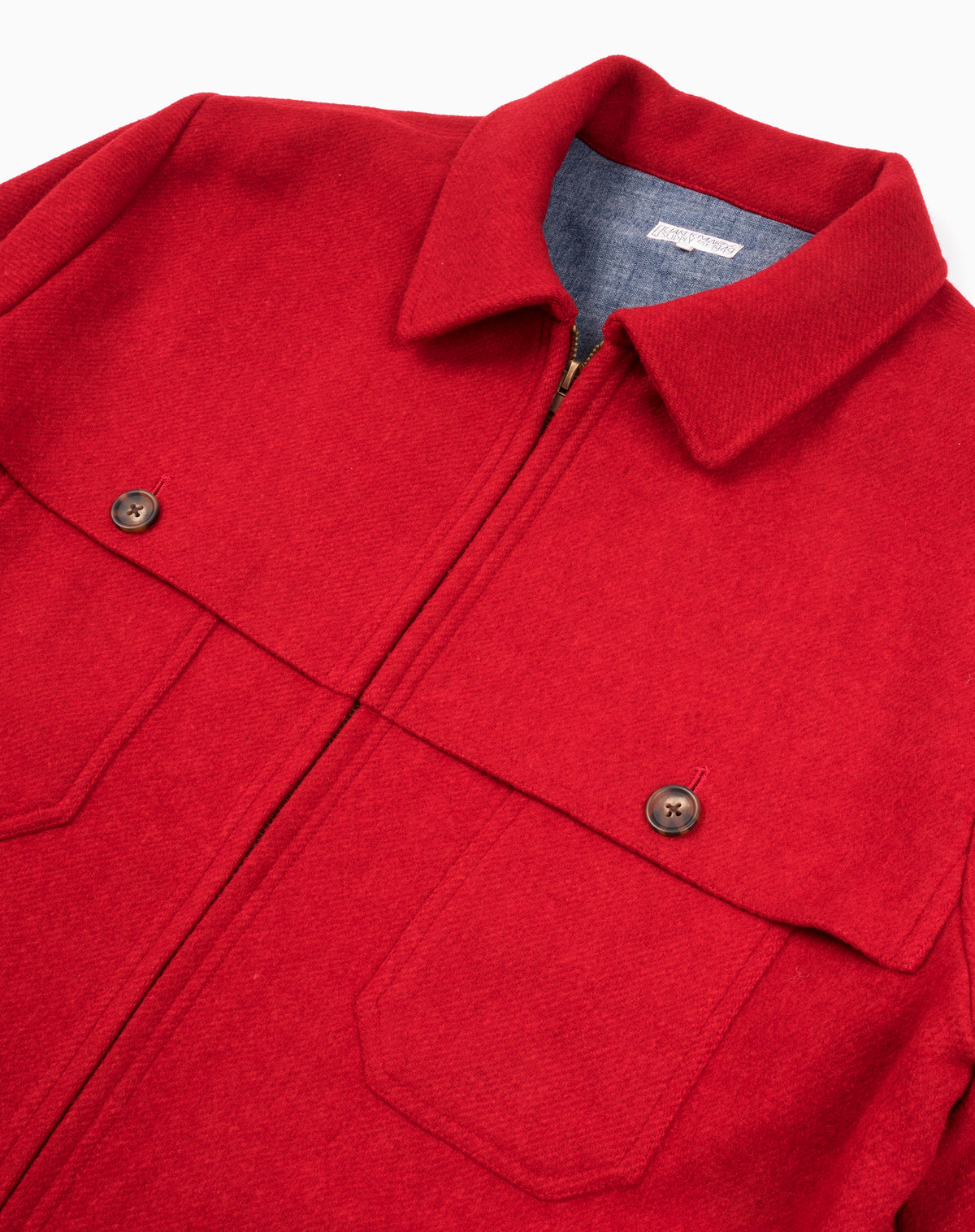 Hudson Jacket in Red