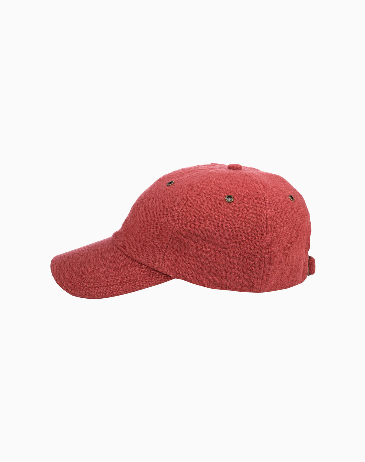Linen 6-Panel in Red
