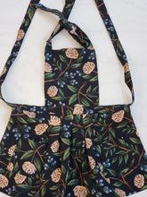 Load image into Gallery viewer, Toddler Apron - Dark Floral Canvas
