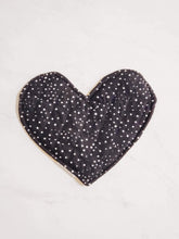 Load image into Gallery viewer, Crinkle Heart - Yellow & Black and White (Double-Sided)