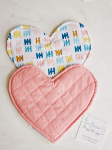 Crinkle Heart - Multicolour Shapes