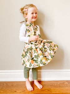 Toddler Apron - Lemon & Oranges