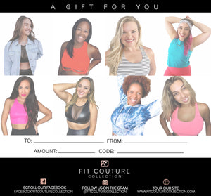 Gift Card - Fit Couture Collection