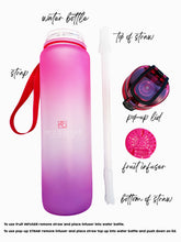 Load image into Gallery viewer, Ombré Water Bottle - Fit Couture Collection