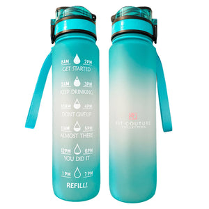 Ombré Water Bottle - Fit Couture Collection