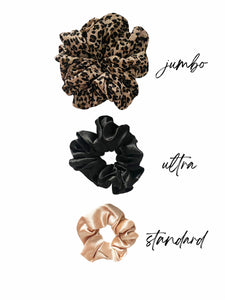 Silk Scrunchie - Fit Couture Collection