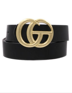 Black Glam Belt