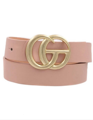 Blush Glam Belt