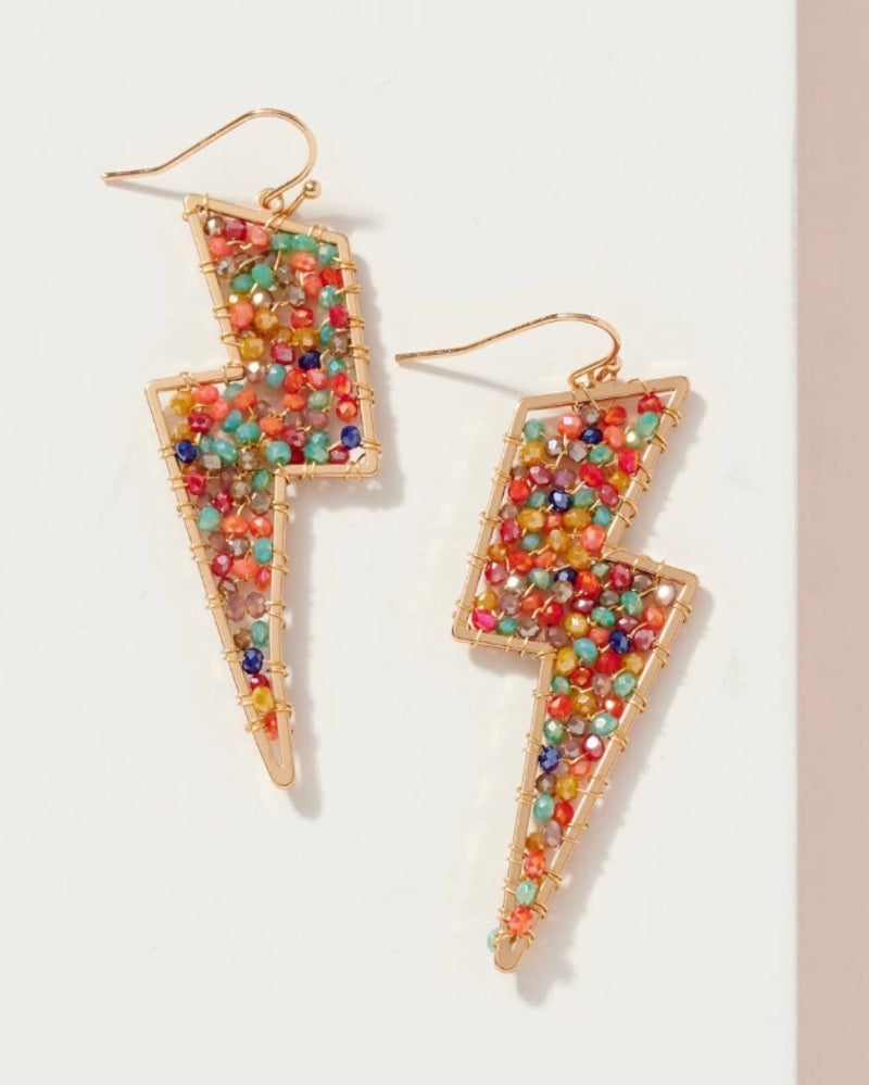 Amara Bolt Earrings