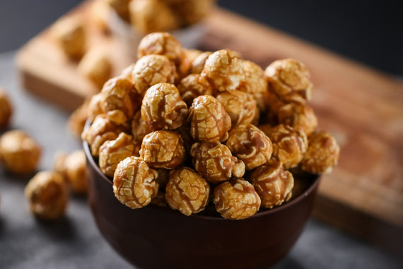 Sea Salt and Maple Popcorn