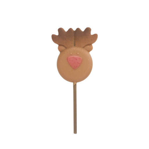Tree or Reindeer Chocolate Lollipops
