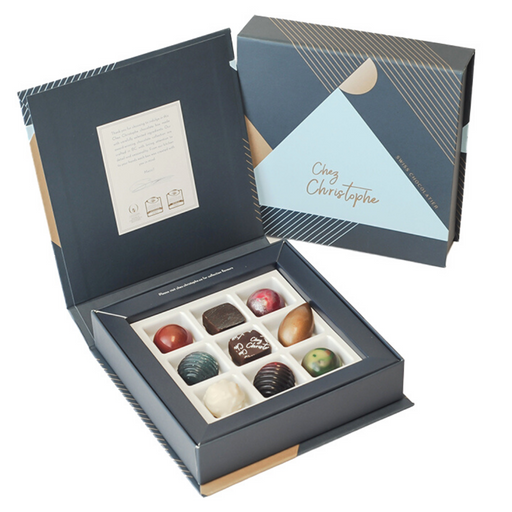 9 Piece Chocolate Box